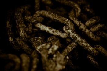 Corroded Chain Texture