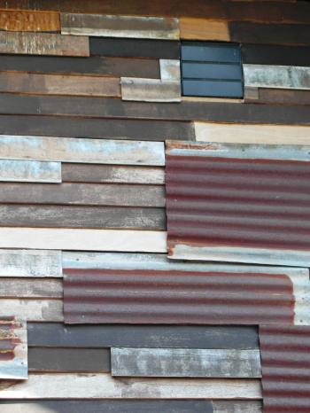 Corrugated Panels Background