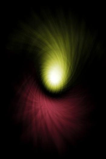 Crashing Comet Abstract