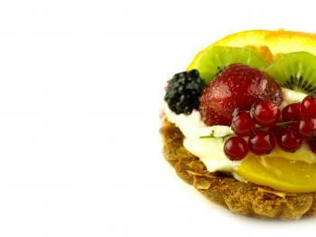 Cream cake very sweet