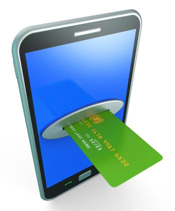 Credit Card Online Shows Retail Sales And Web