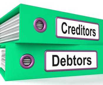 Creditors Debtors Files Shows Lending And Borrowing