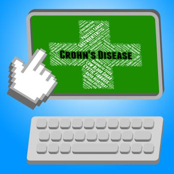 Crohns Disease Means Ill Health And Ileitis