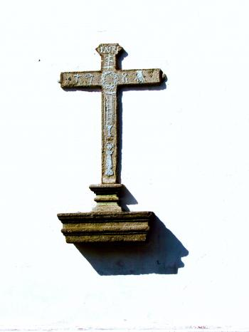 Cross on a Wall
