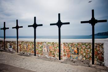 Crosses, Church of Soccorso, Ischia