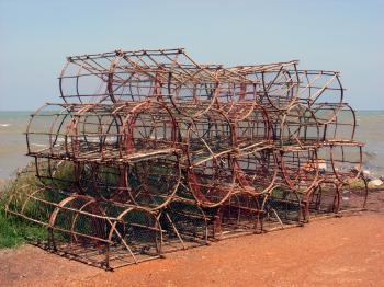 Crustacean fishing traps