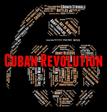 Cuban Revolution Shows Coup D?t And Anarchy