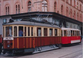 Czech tram old