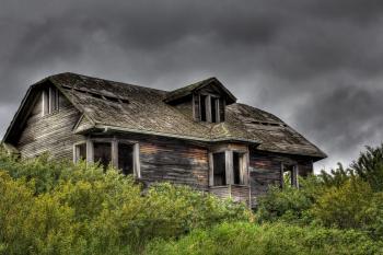 Dark Abandoned House