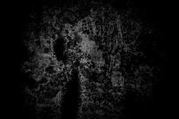 Dark Black and White Metal Texture
