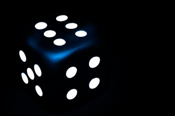 Dark Blue Dice