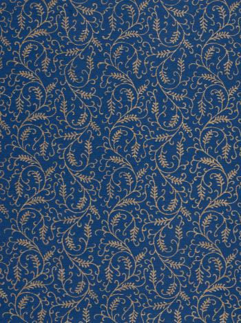 Dark Blue Gold Paper