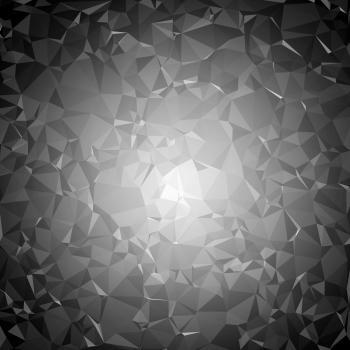 Dark triangle pattern background