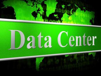 Data Center Indicates Storage Filing And Digital