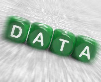 Data Dice Displays Info Statistics And Backup
