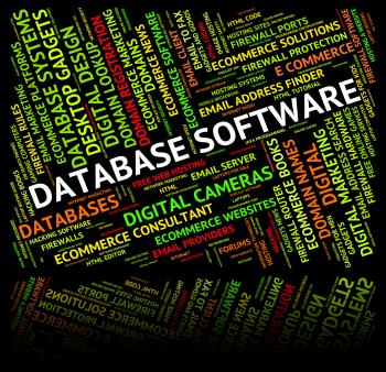 Database Software Means Softwares Freeware And Application