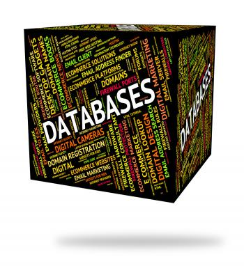 Databases Word Indicates Info Words And Text