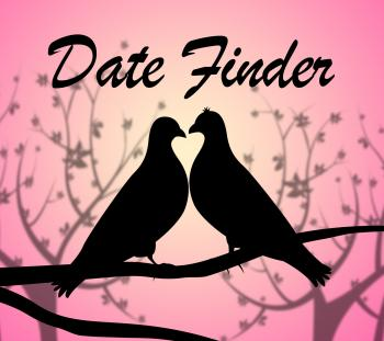 Date Finder Indicates Online Dating