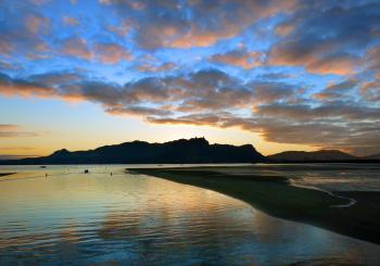 Dawn Whangarei Harbour. NZ