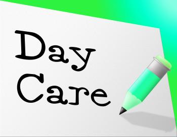 Day Care Represents Childrens Club And Childrens