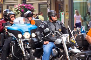 Days of Harley-Davidson in St. Petersbur