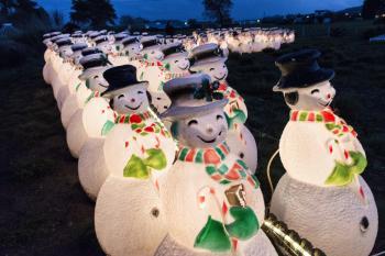 Decorative Snowmen