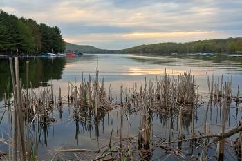 Deep Creek Lake Sunrise - HDR