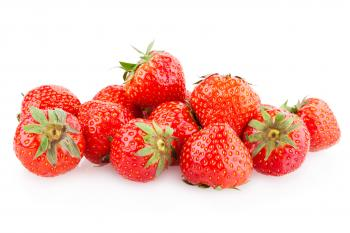 Delicious red strawberries