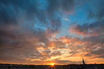 Derry Sunset - HDR