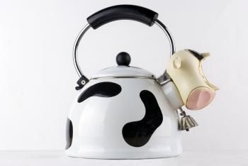 Designer Cow Tea Kettle