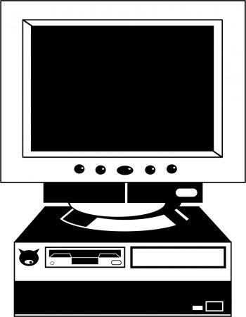Desktop Computer Clipart