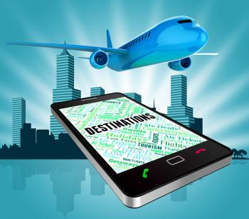Destinations Online Indicates Www Tourism And Websites