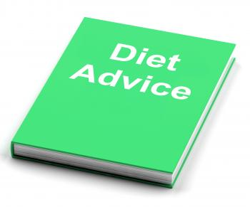 Diet Advice Book Shows Weight loss Knowledge