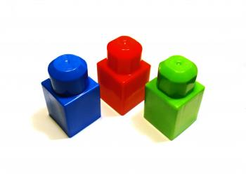 Different colored blocks