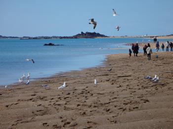 Dinard, grande marée