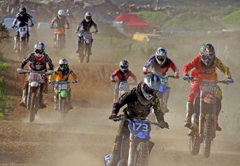Dirt bike riders.