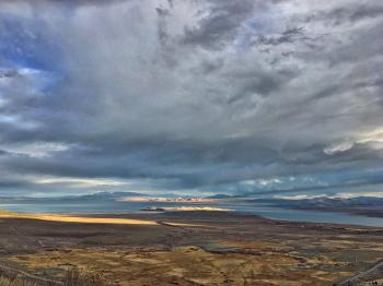 Disk Over Mono Lake
