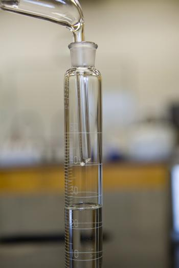 Distillate in lab