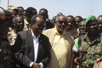 Djibouti President Visits Beletweyne