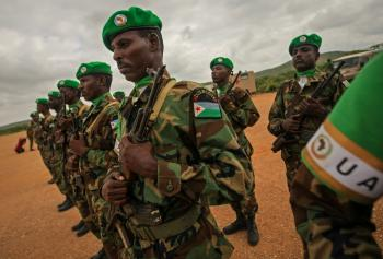 Djiboutian Contingent deploy more troops 03