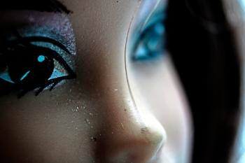 Doll close up