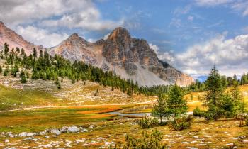 Dolmites Mountain Range
