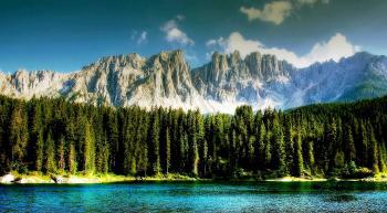 Dolmites Mountainous Range