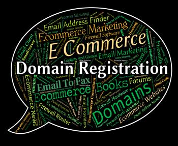 Domain Registration Shows Sign Up And Admission