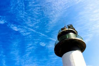 Down Viewing Lightpost