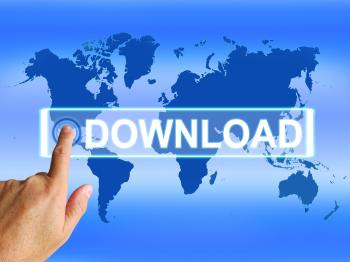 Download Map Shows Downloads Downloading and Information Transfer
