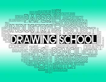 Drawing School Shows Draft Study And Designer