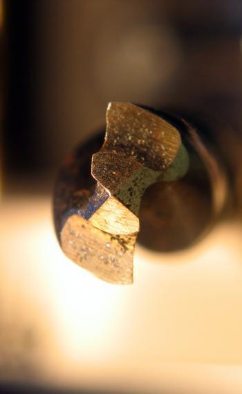 Drill closeup