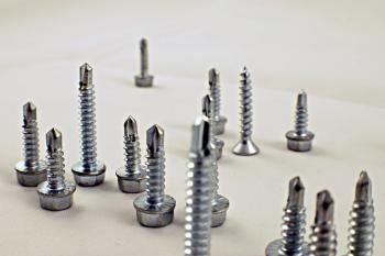 Drill screws end up