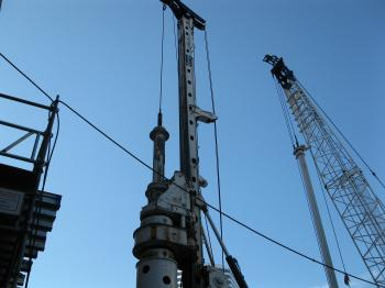 Drilling piles at Yonge and Gould.jpg